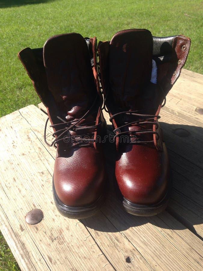 μπότες νέες στοκ φωτογραφία με δικαίωμα ελεύθερης χρήσης