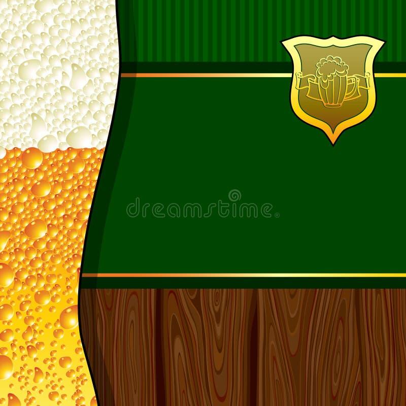 μπύρα ανασκόπησης ελεύθερη απεικόνιση δικαιώματος