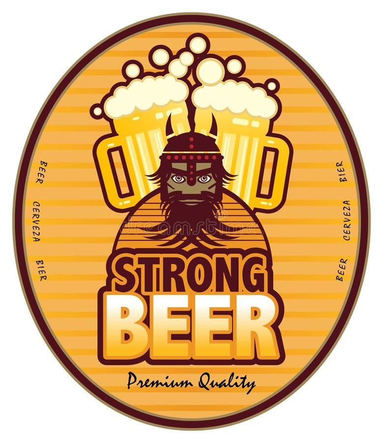 μπύρα ισχυρή ελεύθερη απεικόνιση δικαιώματος