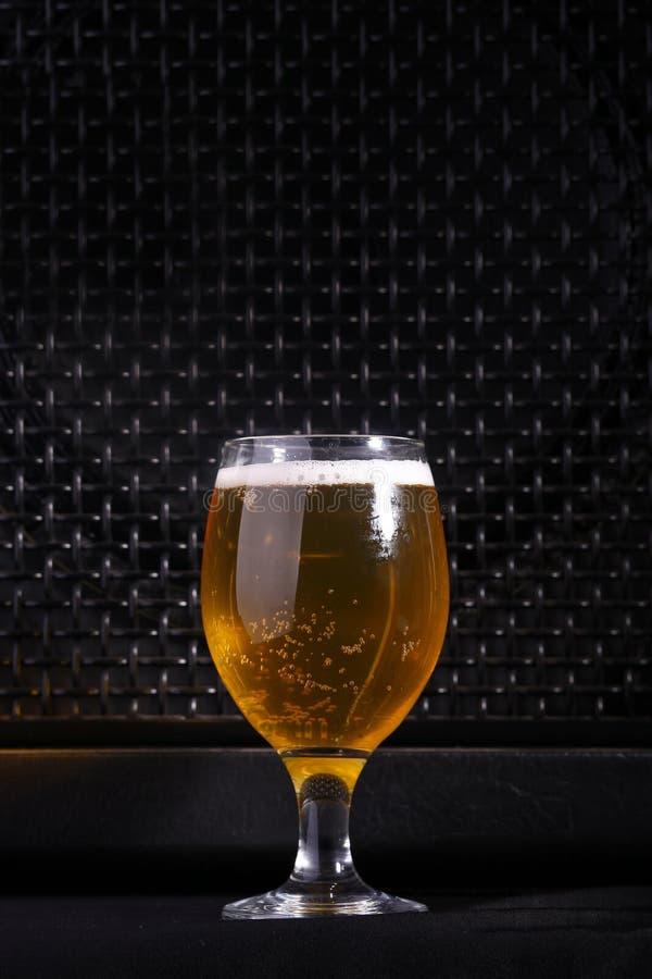 Μπύρα και μουσική στοκ φωτογραφία με δικαίωμα ελεύθερης χρήσης