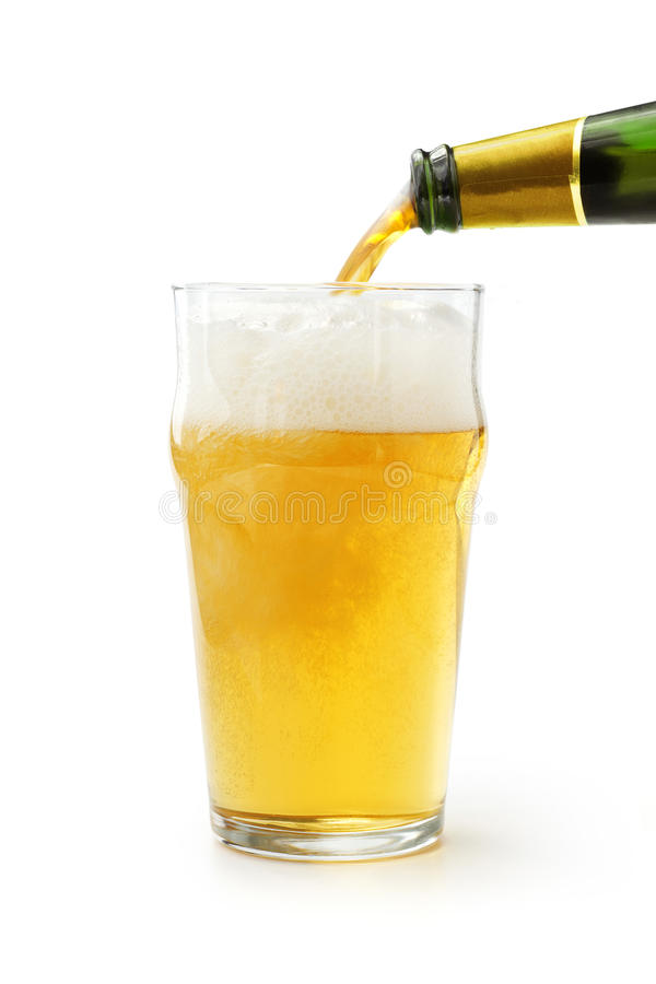Μπύρα ξανθού γερμανικού ζύού στοκ φωτογραφία με δικαίωμα ελεύθερης χρήσης