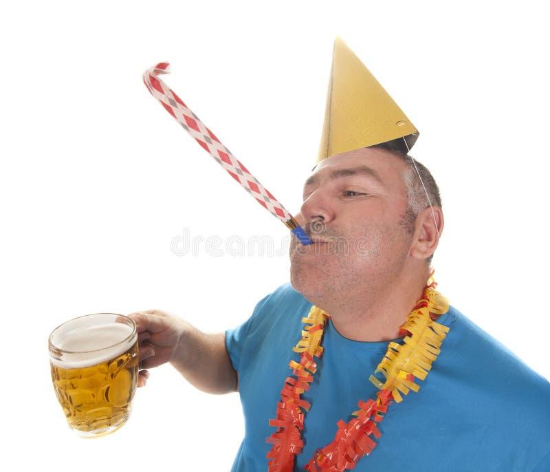 Μπύρα συμβαλλόμενου μέρους στοκ φωτογραφίες με δικαίωμα ελεύθερης χρήσης