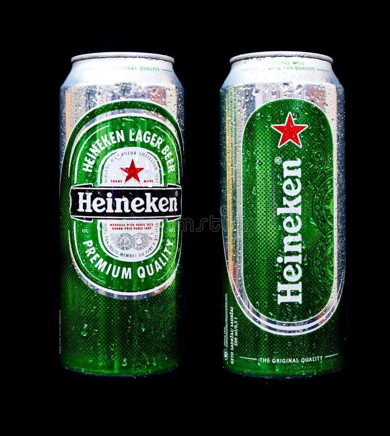 Μπύρα της Heineken στοκ φωτογραφίες