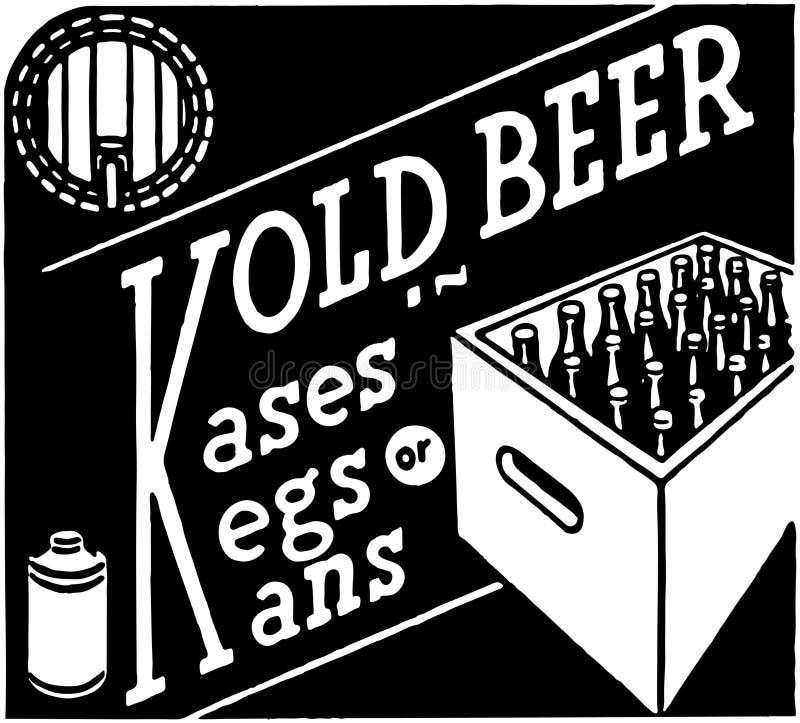 Μπύρα Kold απεικόνιση αποθεμάτων