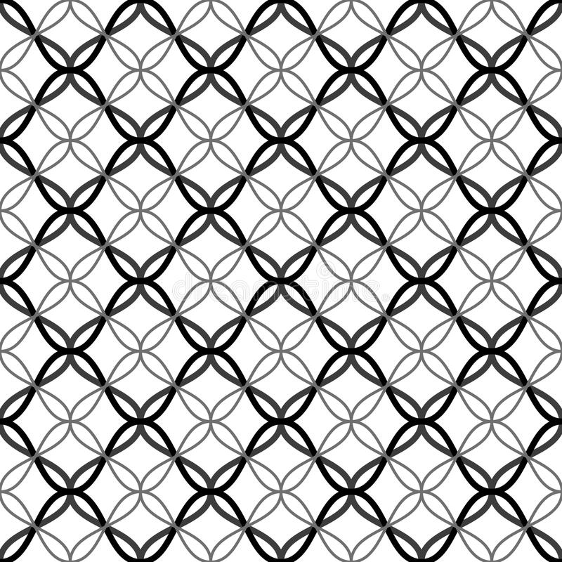 Μπλεγμένο σχέδιο δικτυωτού πλέγματος ελεύθερη απεικόνιση δικαιώματος