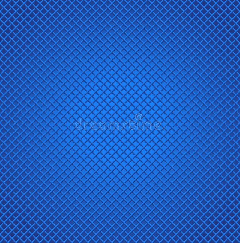 Μπλε άνευ ραφής υπόβαθρο διανυσματική απεικόνιση