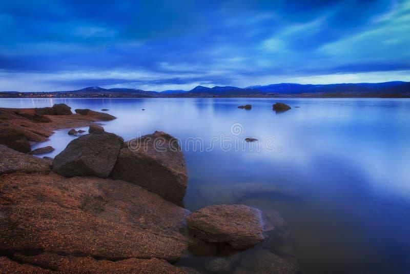 Μπλε άνοδος λιμνών SM Jindab στοκ εικόνα