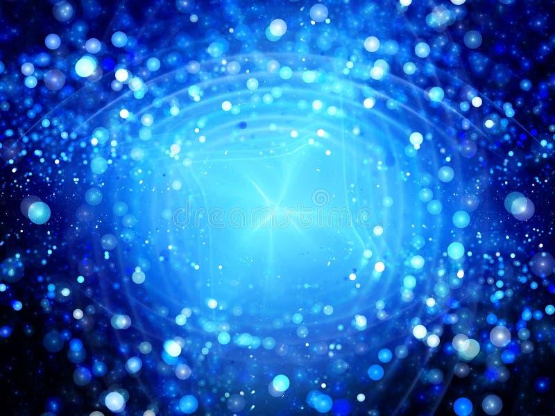 Μπλε έκρηξη πυράκτωσης της νέας τεχνολογίας στοκ εικόνα με δικαίωμα ελεύθερης χρήσης