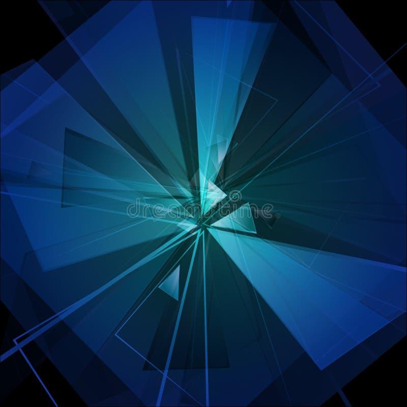 Μπλε έκρηξη 03 ελεύθερη απεικόνιση δικαιώματος