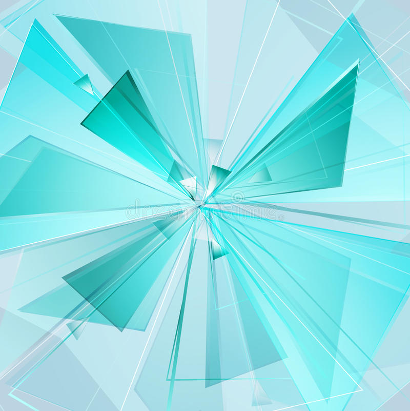 Μπλε έκρηξη 04 απεικόνιση αποθεμάτων