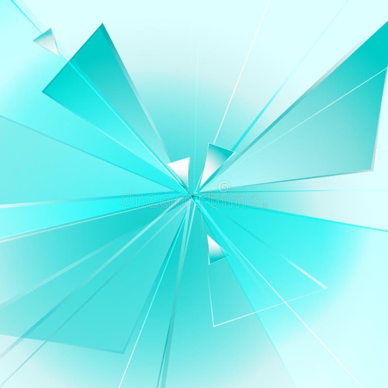 μπλε έκρηξη απεικόνιση αποθεμάτων