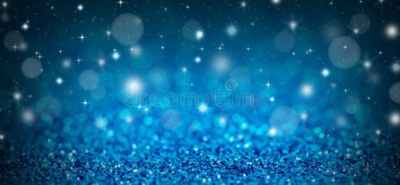 Μπλε ανασκόπηση Χριστουγέννων στοκ φωτογραφία με δικαίωμα ελεύθερης χρήσης