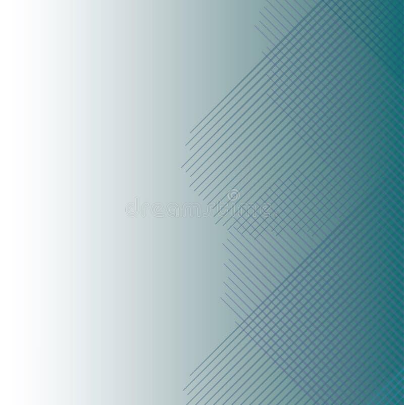 Μπλε ανασκόπηση λωρίδων απεικόνιση αποθεμάτων
