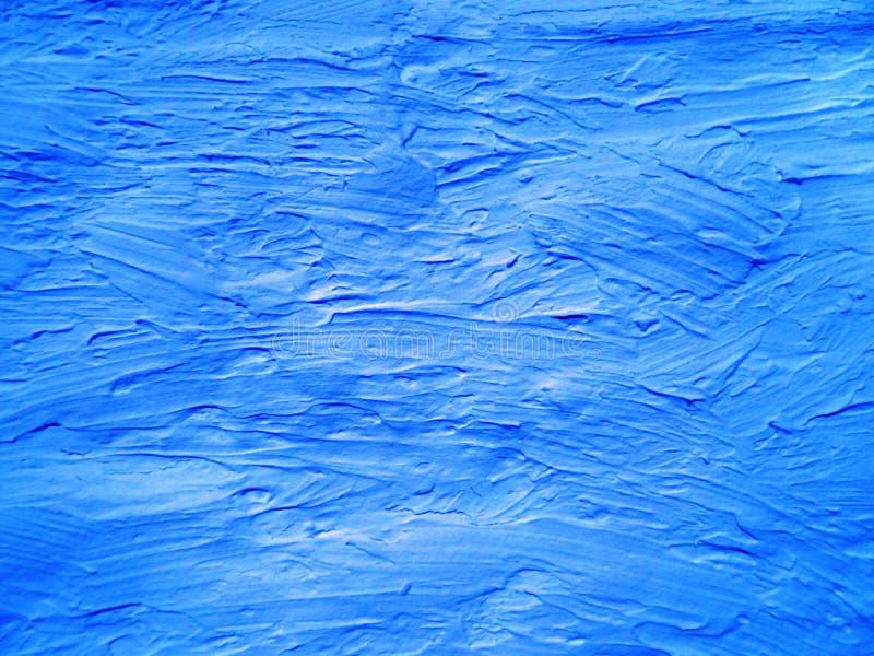 Μπλε ασπρισμένος τοίχος στοκ εικόνες με δικαίωμα ελεύθερης χρήσης