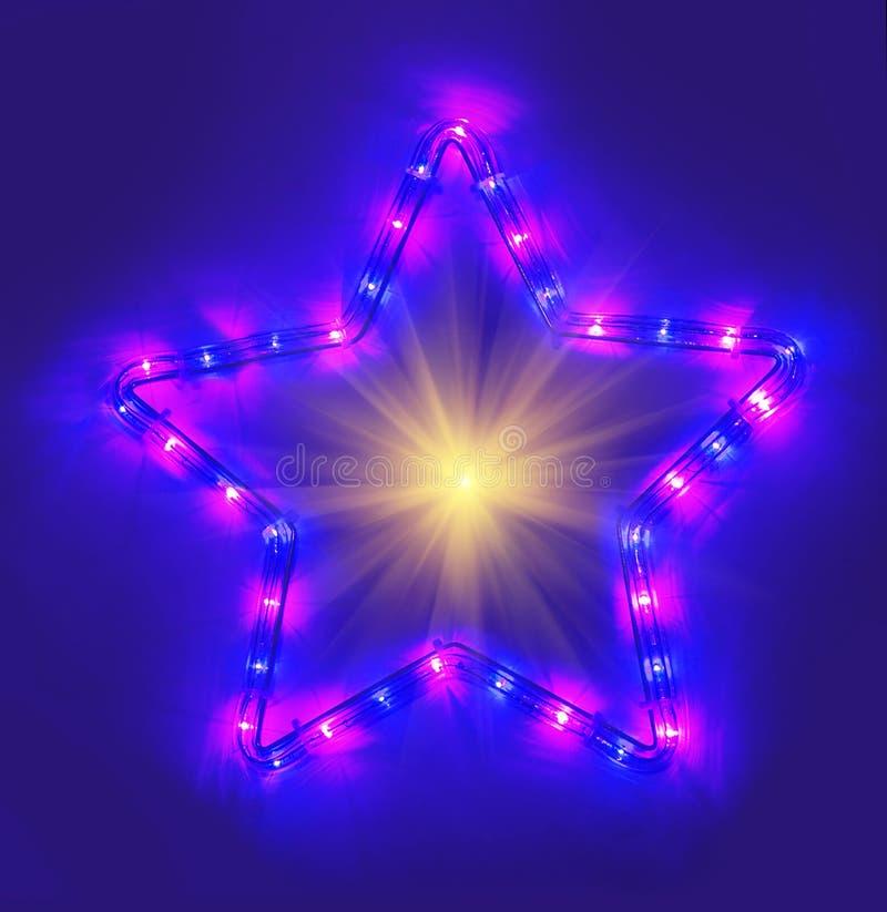 Download μπλε αστέρι στοκ εικόνες. εικόνα από λάμψτε, ροζ, φωτίστε - 62701632