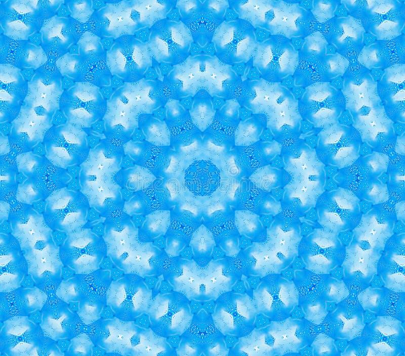 Μπλε αφηρημένο φυσικό σχέδιο διανυσματική απεικόνιση