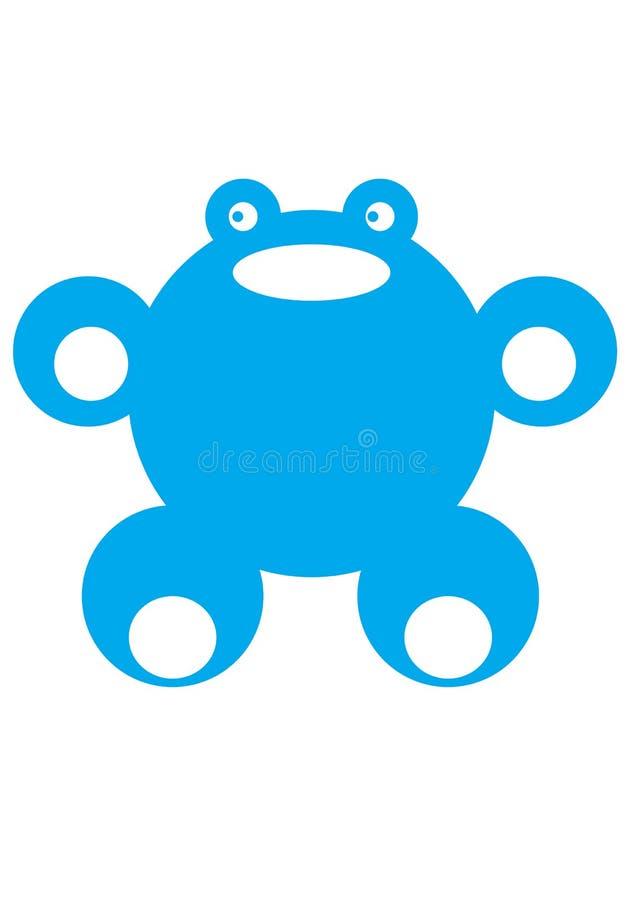 μπλε βάτραχος στοκ εικόνα με δικαίωμα ελεύθερης χρήσης