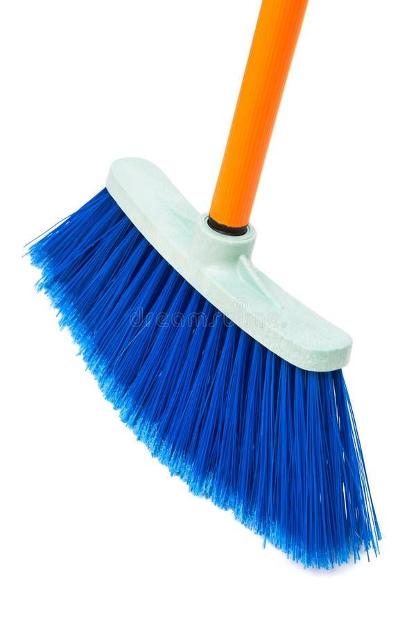 Μπλε βούρτσα το πάτωμα στοκ εικόνα με δικαίωμα ελεύθερης χρήσης