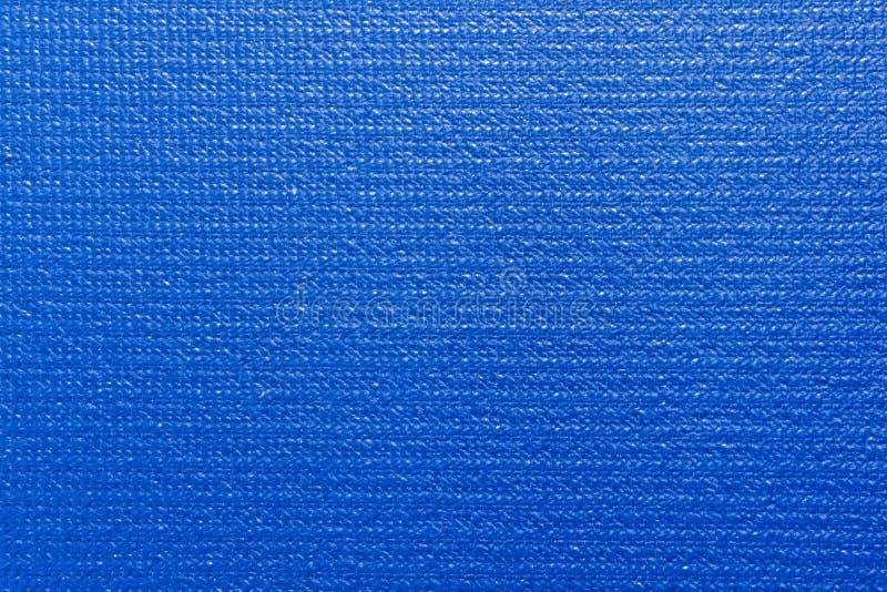 μπλε γιόγκα χαλιών στοκ φωτογραφίες με δικαίωμα ελεύθερης χρήσης