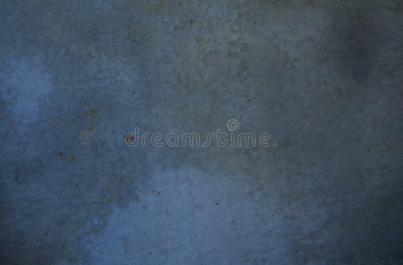 Μπλε γκρίζο συγκεκριμένο υπόβαθρο στοκ φωτογραφίες