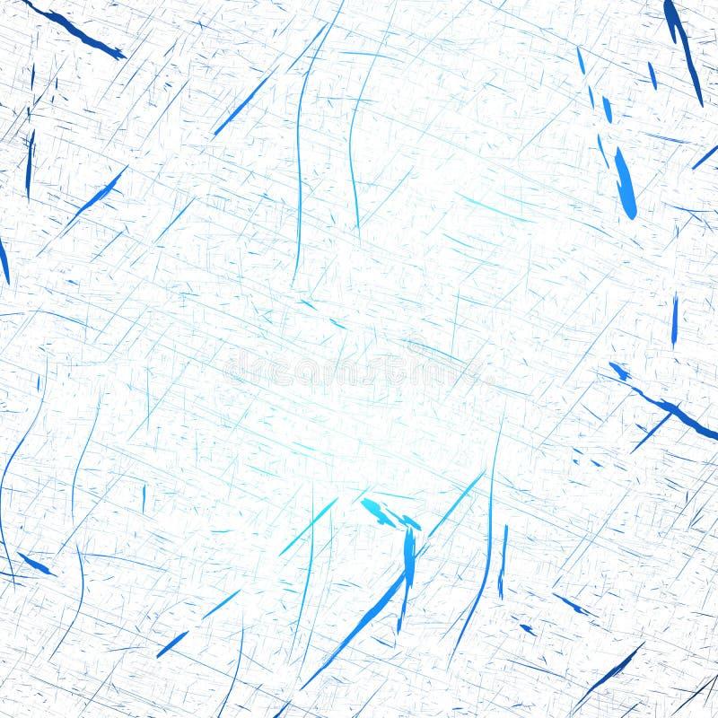 Μπλε γρατσουνιές πάγου απεικόνιση αποθεμάτων
