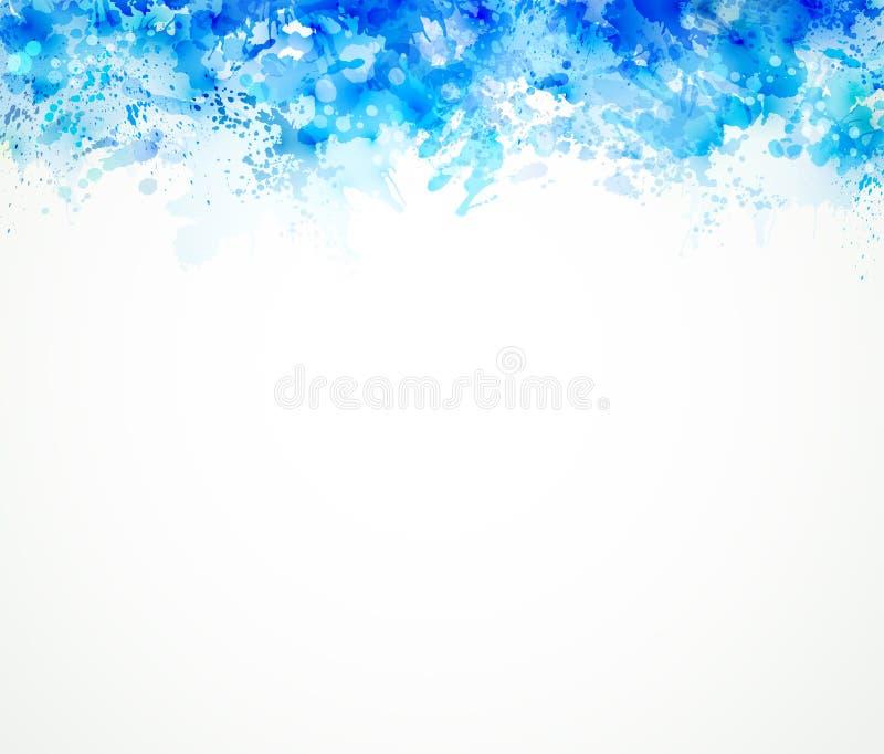 μπλε λεκέδων ελεύθερη απεικόνιση δικαιώματος