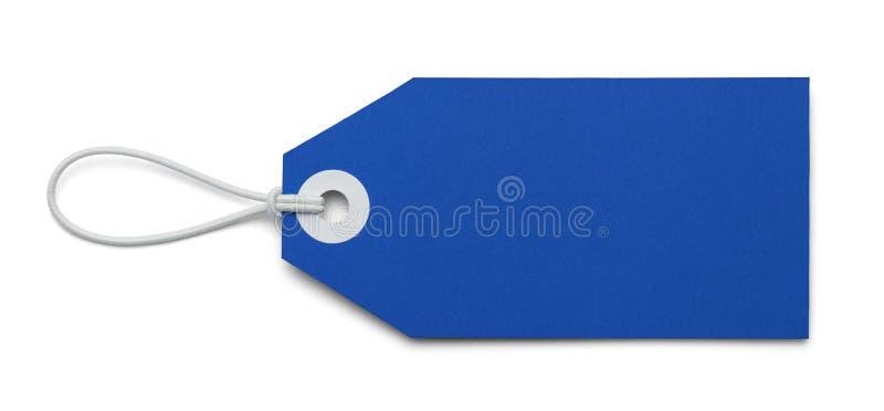 Μπλε ετικέττα στοκ φωτογραφία με δικαίωμα ελεύθερης χρήσης