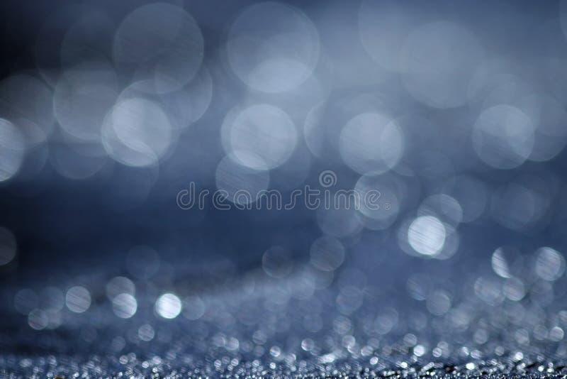 Μπλε θαλάσσιο νερό σύστασης στοκ εικόνα