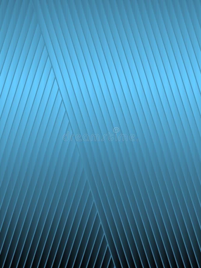 Μπλε διαγώνια λωρίδες απεικόνιση αποθεμάτων