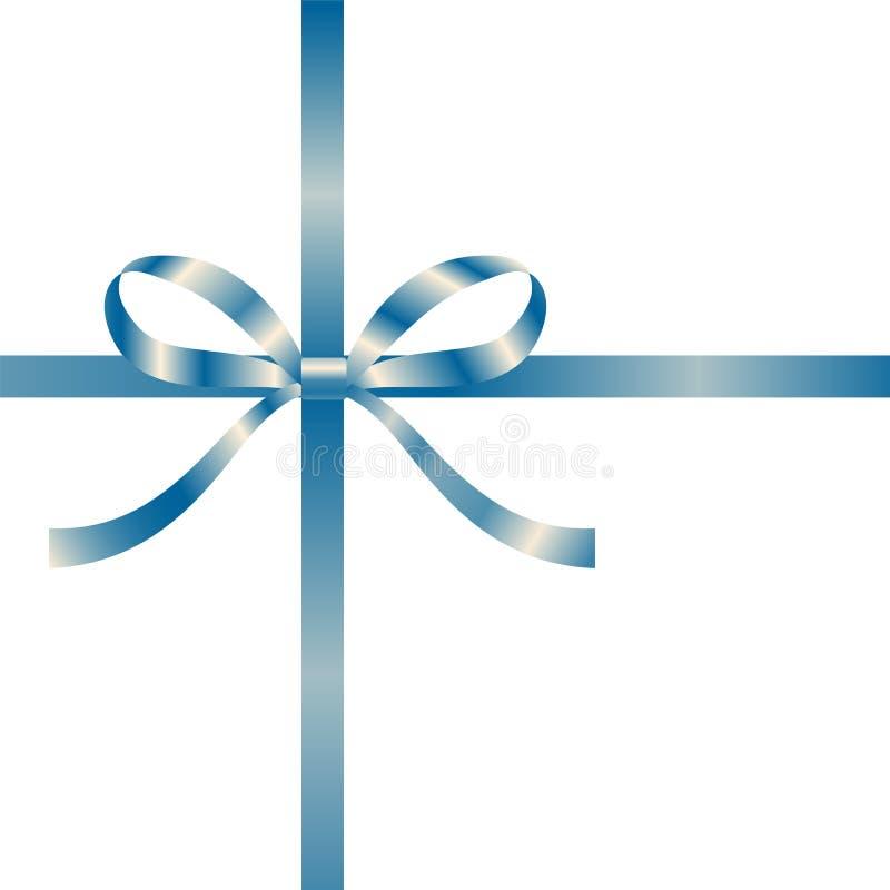 μπλε διακοσμητική κορδέ&la στοκ φωτογραφία με δικαίωμα ελεύθερης χρήσης