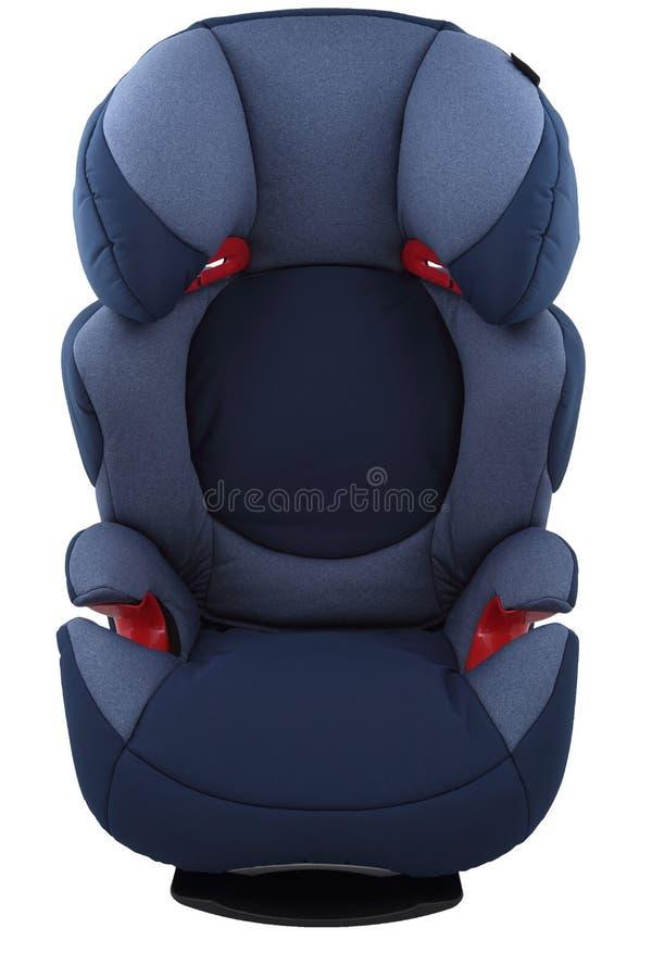 Μπλε κάθισμα αυτοκινήτων παιδιών στοκ φωτογραφίες με δικαίωμα ελεύθερης χρήσης