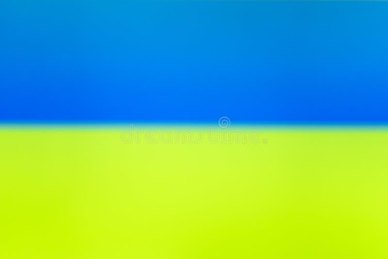 Μπλε κίτρινος συμπεπλεγμένος στατικός θόρυβος TV στοκ εικόνα με δικαίωμα ελεύθερης χρήσης
