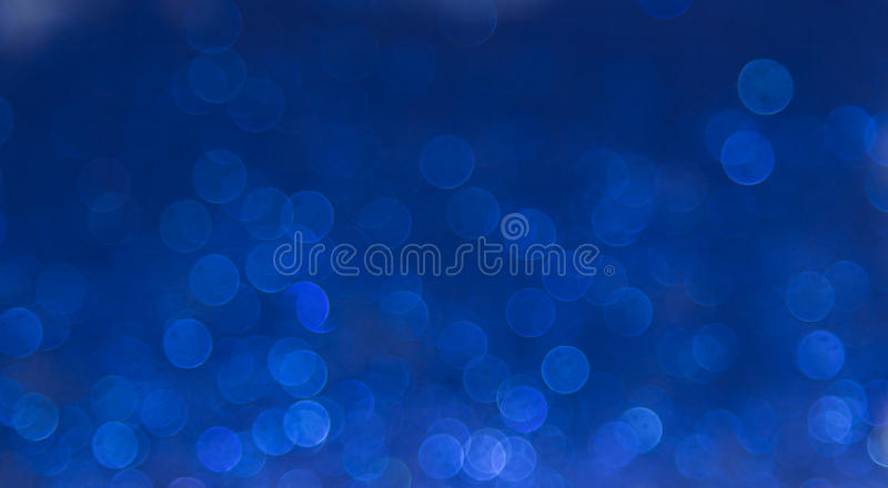 Μπλε κομψό αφηρημένο υπόβαθρο bokeh στοκ φωτογραφίες με δικαίωμα ελεύθερης χρήσης