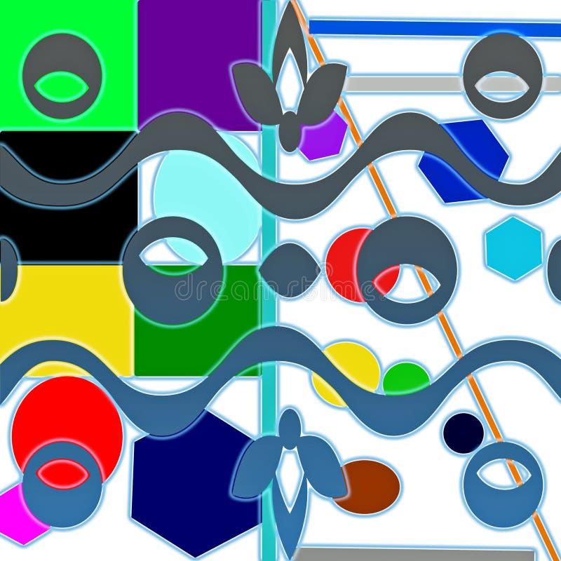 Μπλε μάτι εμβλημάτων διανυσματική απεικόνιση