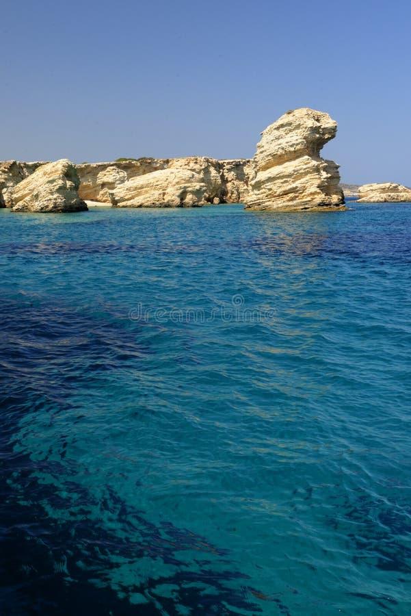 Μπλε Μεσόγειος στοκ εικόνες
