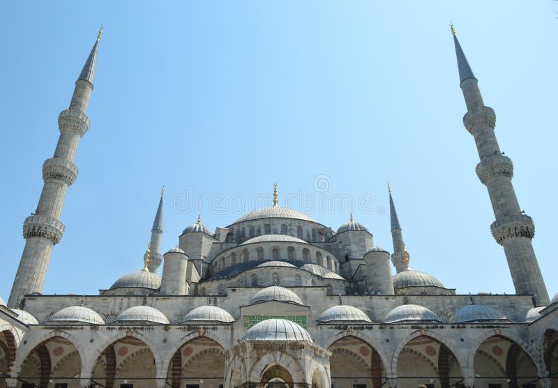 μπλε μουσουλμανικό τέμενος Τουρκία της Κωνσταντινούπολης στοκ φωτογραφία με δικαίωμα ελεύθερης χρήσης