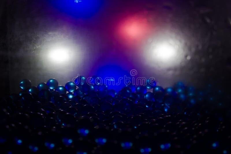 Μπλε μπαλόνια ηλίου στοκ φωτογραφίες με δικαίωμα ελεύθερης χρήσης