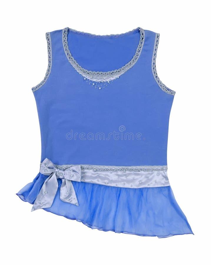 Μπλε μπλούζα στοκ εικόνες με δικαίωμα ελεύθερης χρήσης