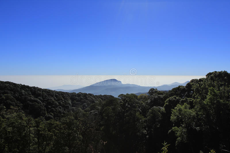 Μπλε ουρανού στοκ φωτογραφία με δικαίωμα ελεύθερης χρήσης