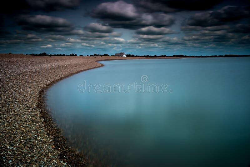 Μπλε παραλία στοκ εικόνες με δικαίωμα ελεύθερης χρήσης