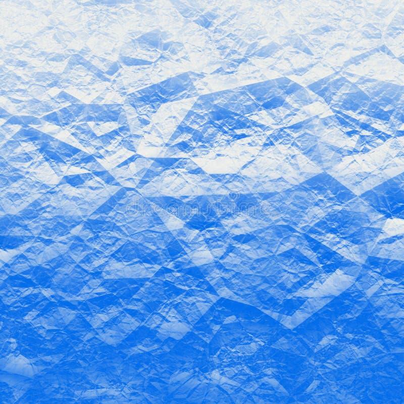 Μπλε πολύγωνα ελεύθερη απεικόνιση δικαιώματος