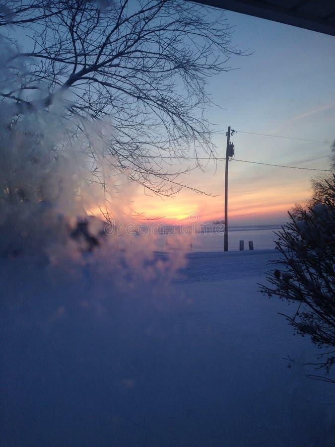 Μπλε πρωί στοκ φωτογραφία με δικαίωμα ελεύθερης χρήσης