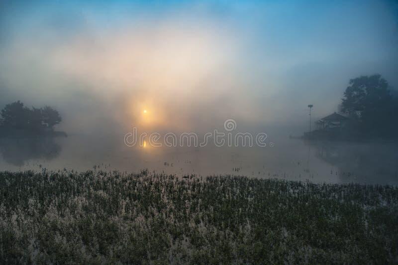 Μπλε πρωί στοκ εικόνα με δικαίωμα ελεύθερης χρήσης