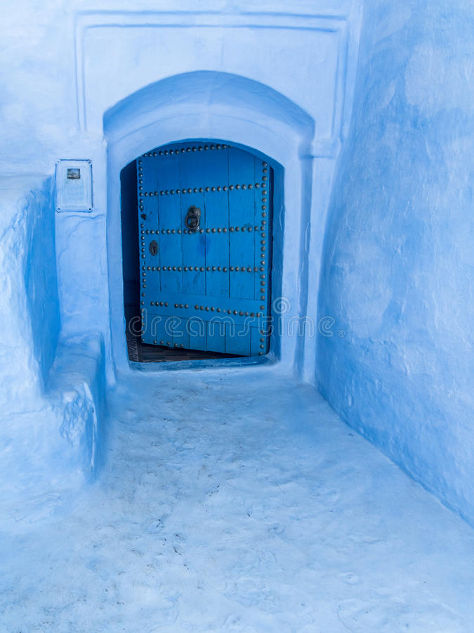 μπλε πύλη στοκ φωτογραφία με δικαίωμα ελεύθερης χρήσης