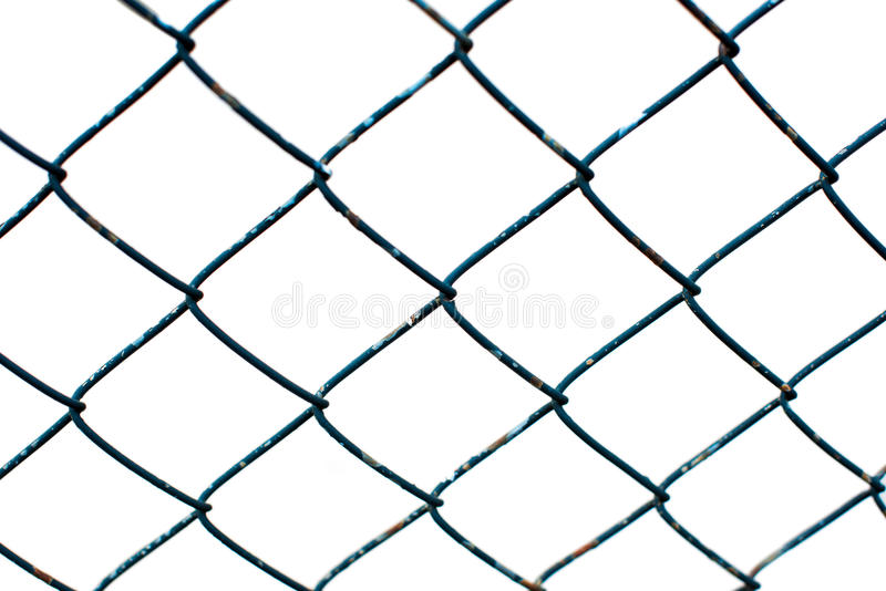 Μπλε πλέγμα καλωδίων στοκ φωτογραφίες με δικαίωμα ελεύθερης χρήσης