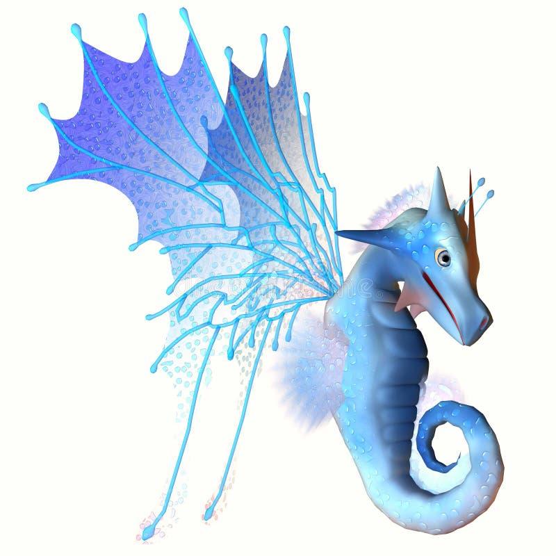 Μπλε δράκος Faerie απεικόνιση αποθεμάτων