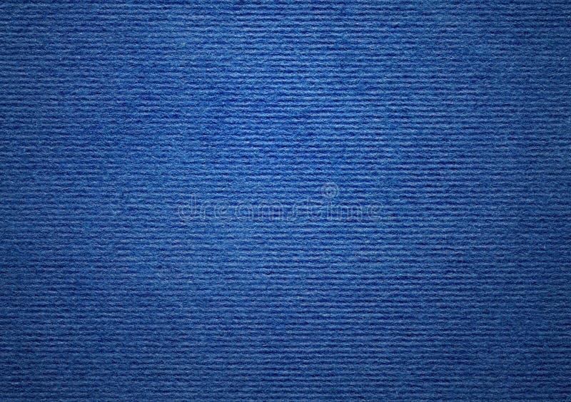 Μπλε ριγωτό texturee εγγράφου στοκ φωτογραφία με δικαίωμα ελεύθερης χρήσης