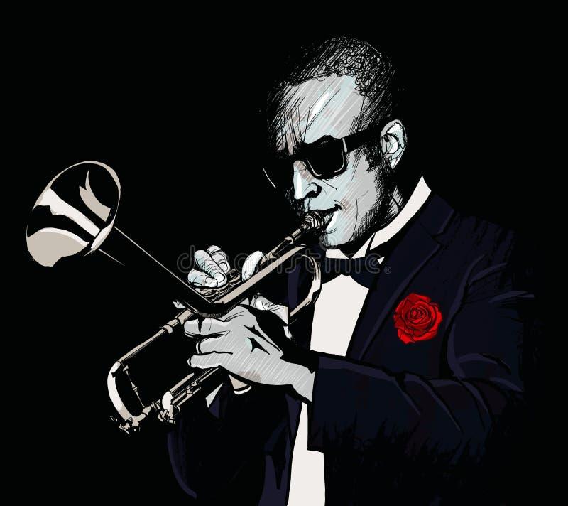 μπλε σάλπιγγα W τόνου saxophone φορέων εστίασης δάχτυλων β στοκ φωτογραφίες