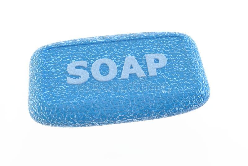 μπλε σαπούνι απεικόνιση αποθεμάτων