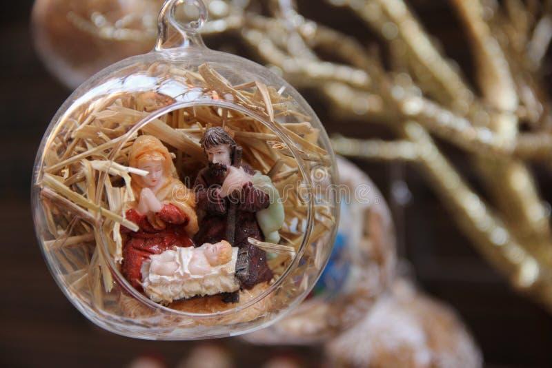 μπλε σκιά διακοσμήσεων απεικόνισης λουλουδιών Χριστουγέννων στοκ φωτογραφίες με δικαίωμα ελεύθερης χρήσης